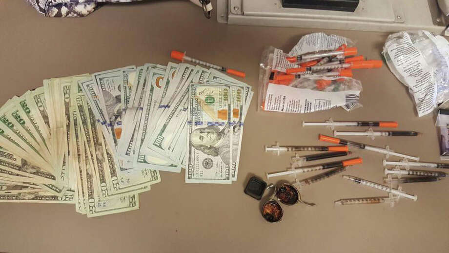 Santa Fe police seized 29 grams of heroin and $4,500 cash during a traffic stop on Jan. 5, 2017. Photo: Santa Fe Police Department