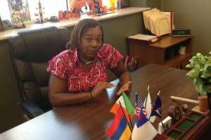 Angelicia Morris, executive director of the Schenectady County Human Rights Commission, at her office last year.