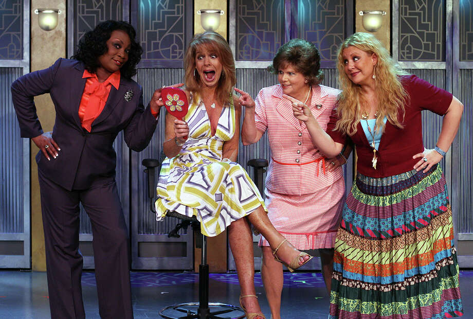 "Cast members from ""Menopause The Musical."""
