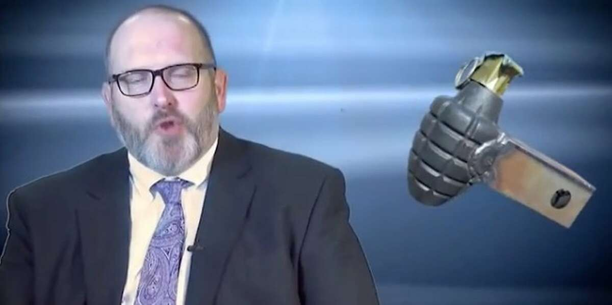 The Transportation Security Administration has released a video of the 10 most unusual items it seized from travelers, featuring TSA social media head Bob Burns. No. 10 - the hand grenade trailer hitch. Should have gone with the also popular bull testicles trailer hitch.