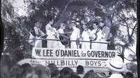 """W. Lee """"Pappy"""" O'Daniel campaigned for Texas governor in 1938. He won 51.4 percent of the vote in a race with 13 candidates."""