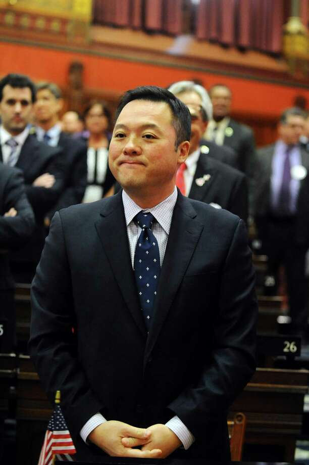 State Representative William Tong (D, Stamford) on the opening day of the 2017 legislative session at the Capital in Hartford, Conn. on Wednesday, Jan. 4, 2017. Photo: Michael Cummo / Hearst Connecticut Media / Stamford Advocate