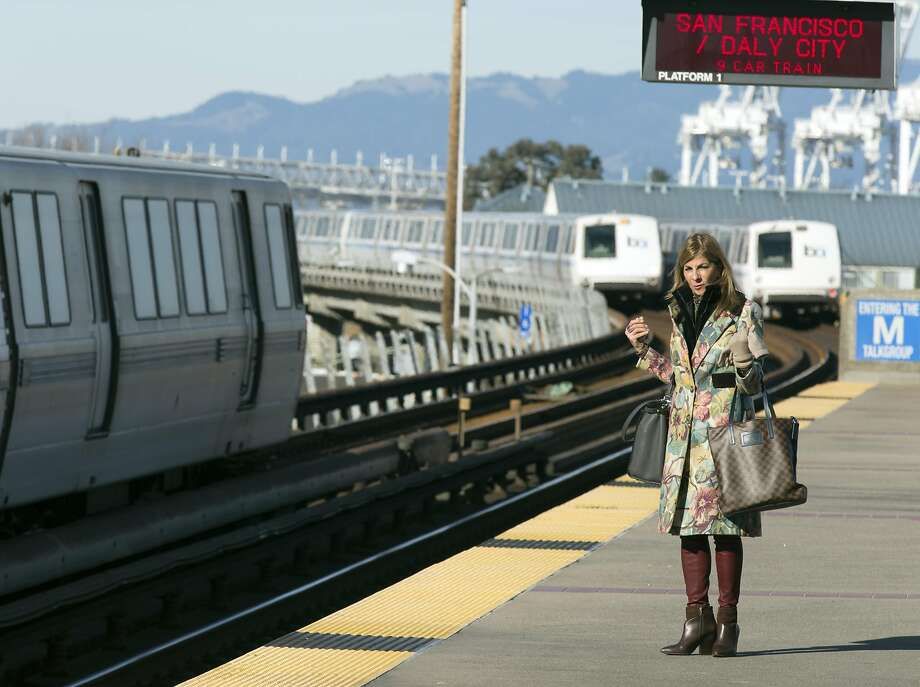 BART is planning to run extra-long trains Friday and Saturday. Photo: D. ROSS CAMERON, Special To The Chronicle