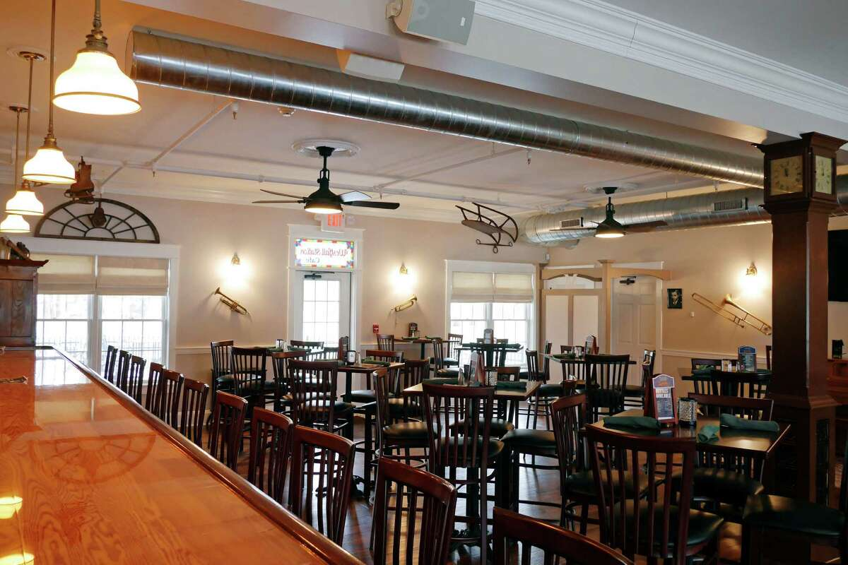 A view of the tavern area inside the Westfall Station Cafe, on Wednesday, Jan. 4, 2017, in Averill Park, N.Y. (Paul Buckowski / Times Union)