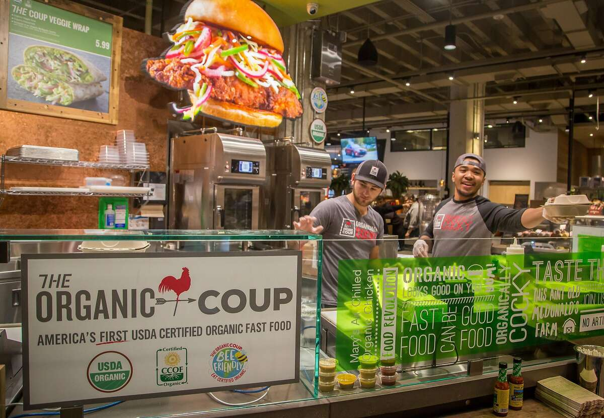 The Organic Coup at the Market in San Francisco, Calif. is seen on January 5th, 2017.