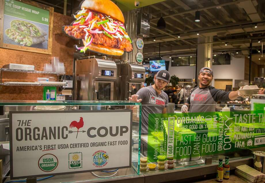 The Organic Coup at the Market in S.F. Photo: John Storey, Special To The Chronicle