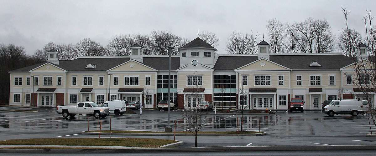 Work continues at the Village at Lexington Gardens on Church Hill Road in Newtown, Conn., on Wednesday, Jan. 4, 2017. The shopping plaza will include a Market Place Kitchen and Bar restaurant.