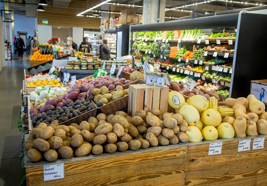 The Market on Market Street in S.F. has shifted its focus to prepared foods but still offers fresh produce. Photo: John Storey, Special To The Chronicle