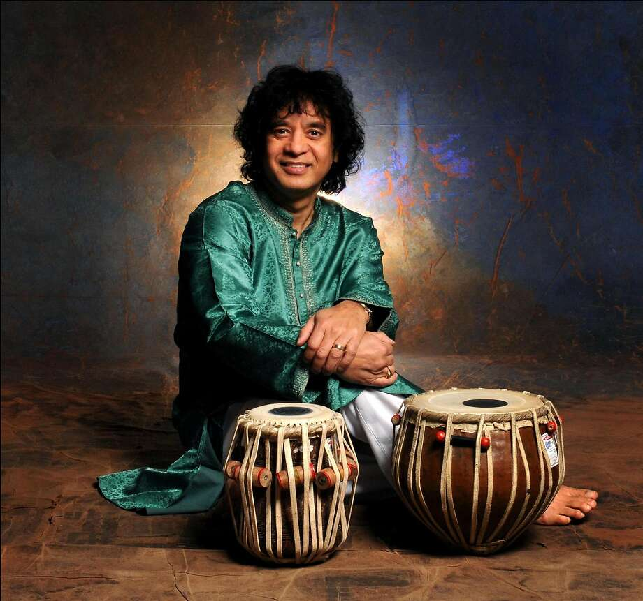 The SFJazz Gala scheduled for Jan. 18 will honor tabla maestro Zakir Hussain. Photo: Courtesy SFJazz