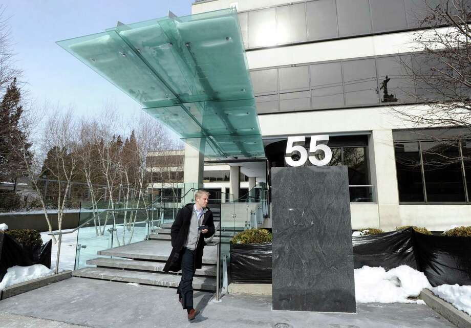 After disclosing plans last year to add hundreds of jobs with state assistance, AQR Capital Management secured additional space at 55 Railroad Ave. in Greenwich in addition to its Greenwich Plaza headquarters. Photo: Bob Luckey / Bob Luckey / Greenwich Time