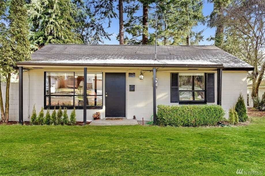 The first home, at 22807 55th Ave. W., is listed for $275,000. The two-bedroom, one-bathroom home is in Mountlake Terrace.The home has a large backyard and is close to Interstate 5. It's an excellent investment opportunity or a great starter home.There will be a showing for this home on Saturday, Jan. 7, from 1 p.m. to 4 p.m. and Sunday, Jan. 8, from 1:30 p.m. to 4 p.m. You can see the full listing here. Photo: Listing Courtesy Tanya Thackeray Wilson, Windermere Real Estate Co.
