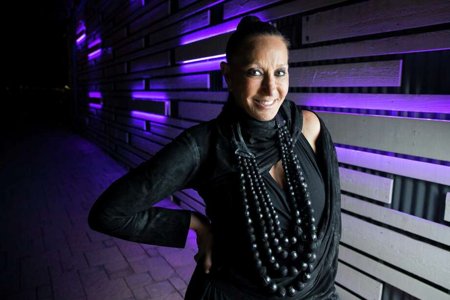 Fashion designer Donna Karan at the Nomad Two Worlds Foundation reception Thursday, Nov. 3, 2016 in Houston. ( Michael Ciaglo / Houston Chronicle ) Photo: Michael Ciaglo, Staff / © 2016  Houston Chronicle