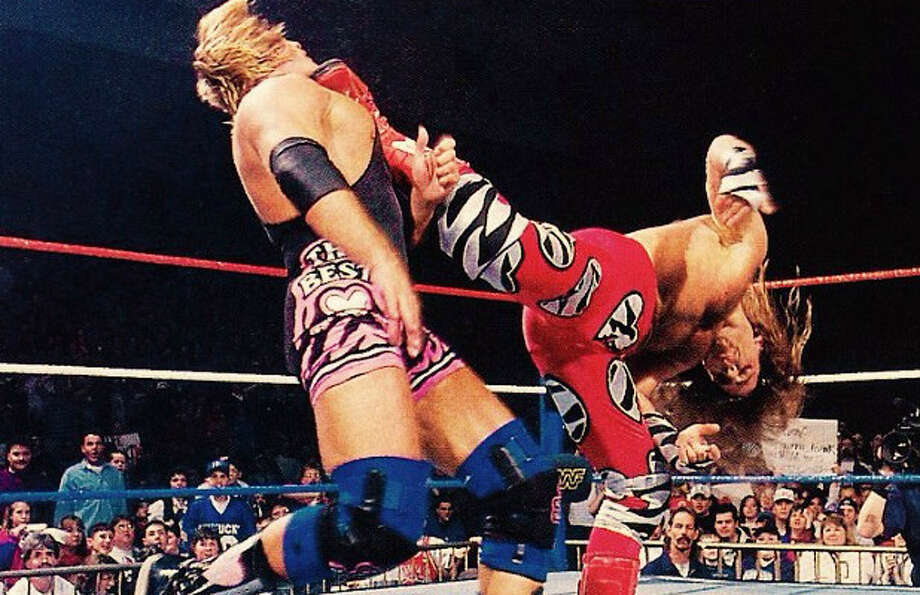 Wwe legend shawn michaels teaches us how to throw a perfect wwe legend shawn michaels teaches us how to throw a perfect superkick san antonio express news m4hsunfo