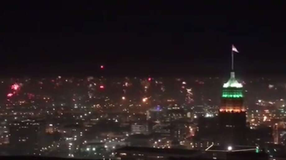 Mac Jones told mySA.com his video, recorded atop the Grand Hyatt at the Alteza Residences, proves Hemisphere Park — though popular — isn't the city's sole source of firework entertainment.