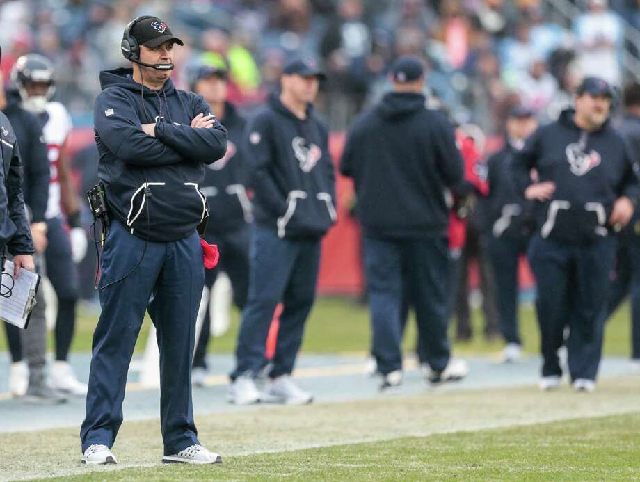 Houston Texans head coach Bill O'Brien stands on the sidelines during the third quarter of an NFL football game against the Tennessee Titans at Nissan Stadium on Sunday, Jan. 1, 2017, in Nashville. ( Brett Coomer / Houston Chronicle ) Photo: Brett Coomer, Staff / © 2017 Houston Chronicle