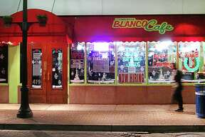 The Original Blanco Cafe on North St. Mary's Street.