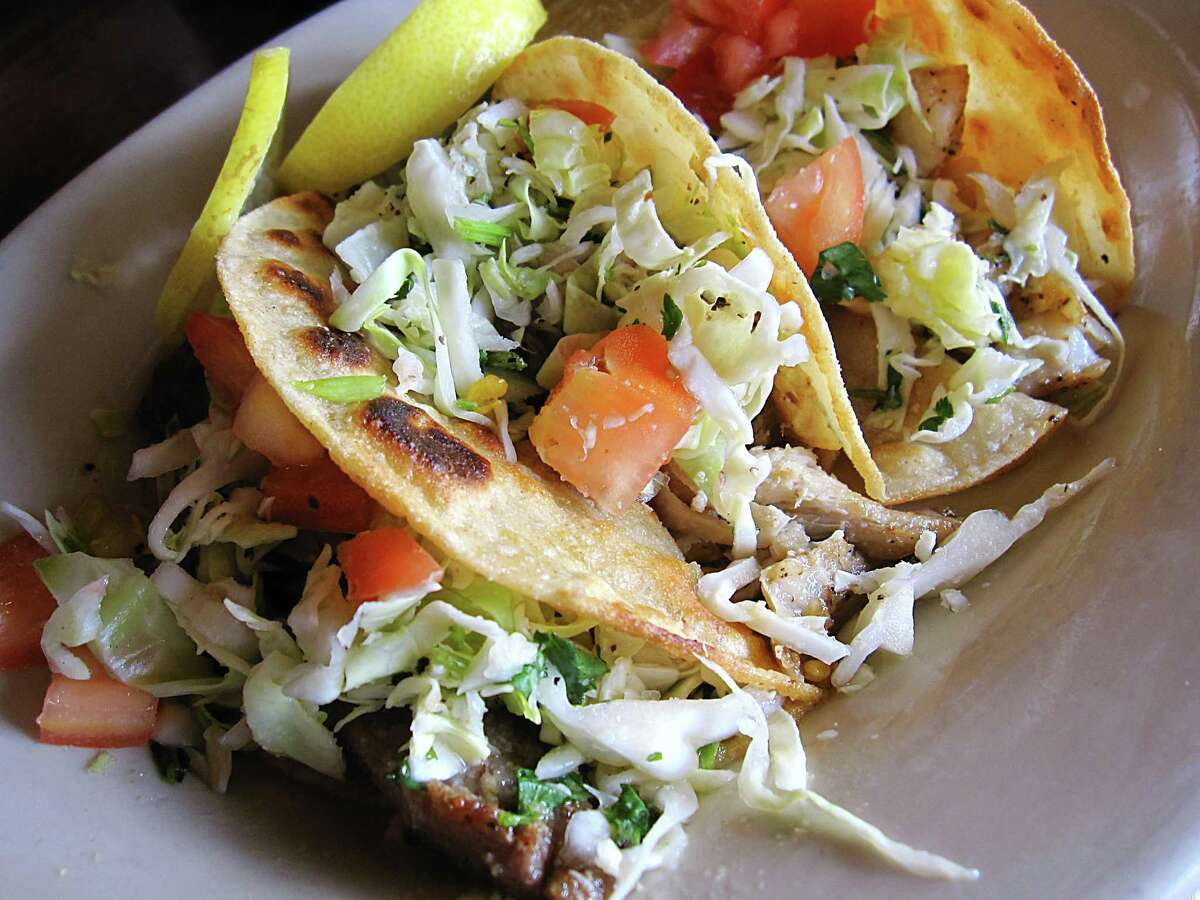 Taco Haven: Ralphie's Special with chicken, pork and fish tacos. 1032 S. Presa St., 210-533-2171, tacohavensouthtown.com
