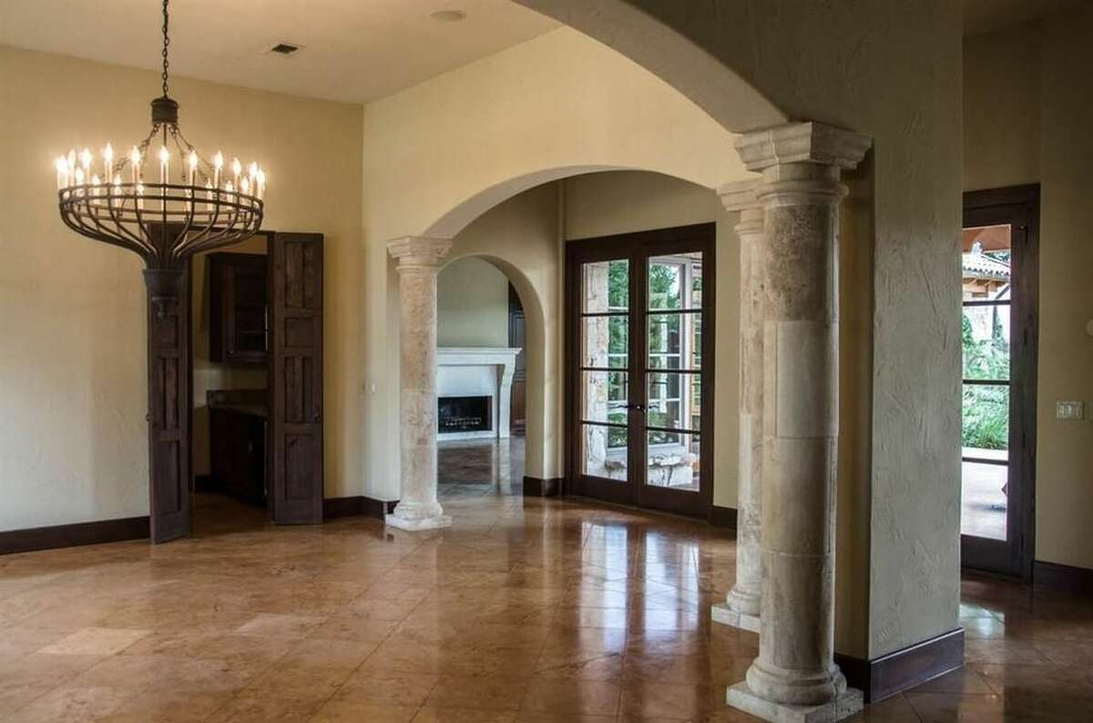 14 Estates of Montclaire, Beaumont, Texas 77706 $1,295,000 5 bedrooms; 4 full, 2 half bathrooms. 6,463 sq. ft. See the listing here.