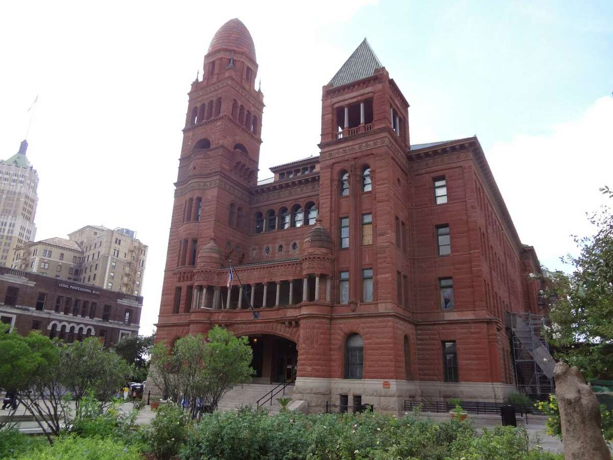 A defendant with a record going through the Bexar County Courthouse is automatically disqualified from being considered for a personal recognizance bond.