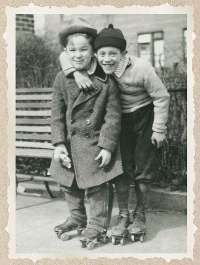 Anthony LoFrisco and Billy Alba in 1947. Photo: Contributed Photo