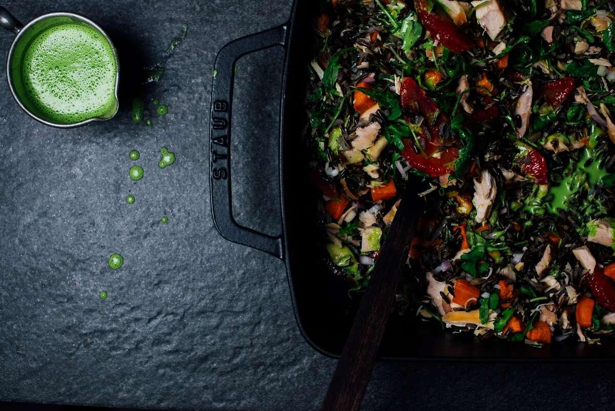 A Brown Kitchen: Winter chicken salad