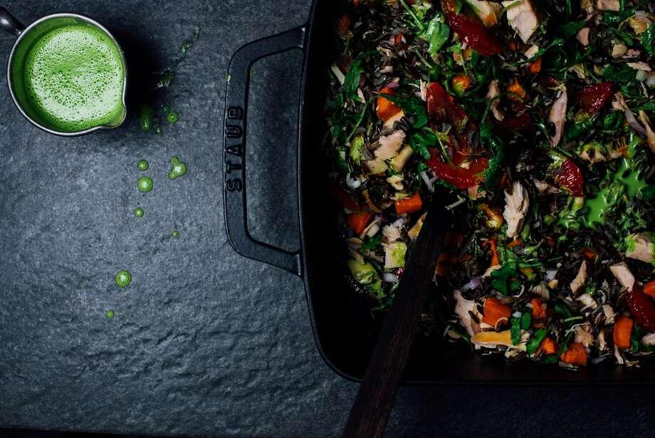 A Brown Kitchen: Winter chicken salad Photo: Nik Sharma