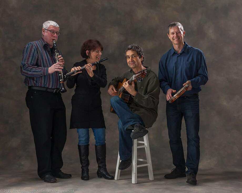 The Berkeley Choro Ensemble is preparing to release its first album. Photo: Courtesy, � 2013 Don Fogg | Foggstudio |
