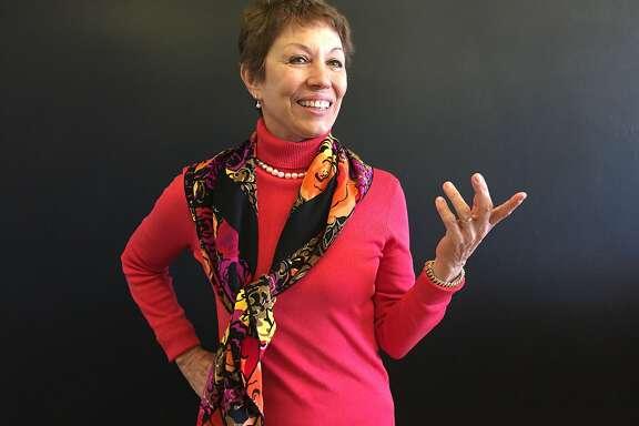 Janet Clarke, 63, interior designer, Palo Alto.