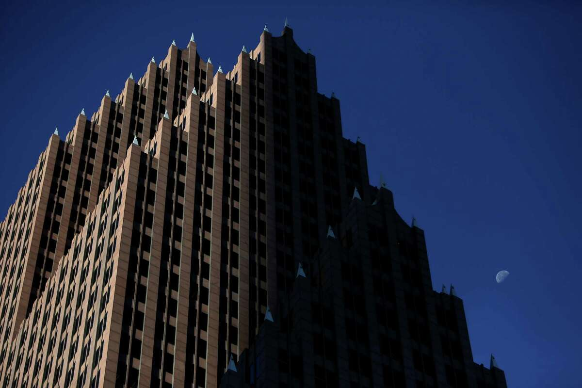 Bank of America Center, at 700 Louisiana downtown, opened in 1983. Its namesake tenant is reportedly weighing a move.