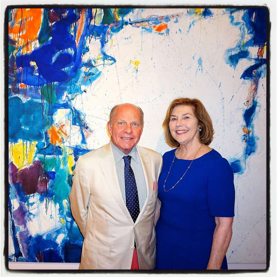 John and Gretchen Berggruen, at their old gallery, have launched an exhibition to inaugurate their new SoMa gallery at 10 Hawthorne St. Photo: Catherine Bigelow, Special To The Chronicle