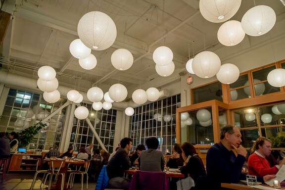 The interior of Tartine Manufactory in San Francisco, Calif. is seen on January 5th, 2017.