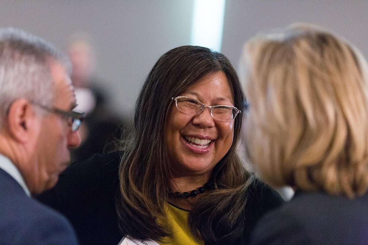 Betty Yee, Democratic candidate for state controller, at a reception and lunch put on by Emily's List at the Intercontinental Hotel in San Francisco, Calif., Friday August 22, 2014.