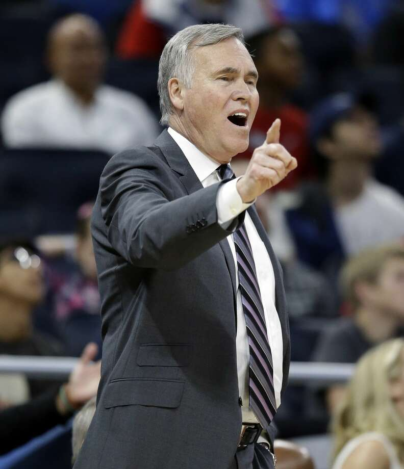 "With the Texans camp moving to the Greenbrier, Rockets coach Mike D'Antoni figured he'd ""for sure"" walk over from his White Sulpher Springs home to check out practices. Photo: John Raoux/Associated Press"