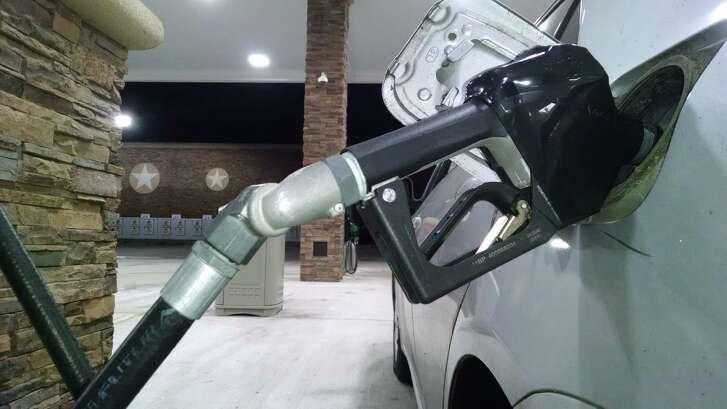Gas pump, Buc-ee's. January 2016.