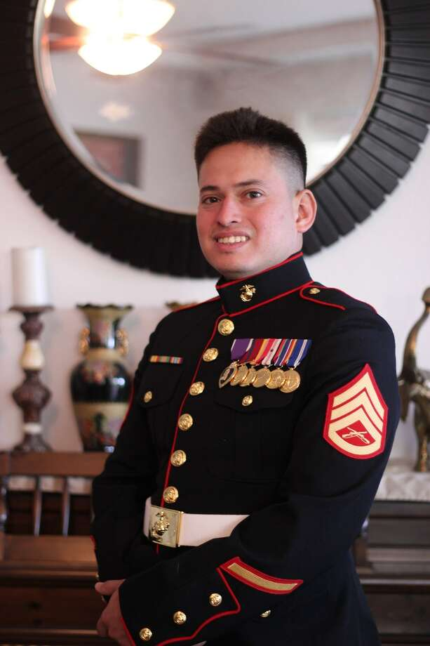 Pictured is SSgt. Enrico Rojo, who was killed just before Christmas when he stopped to help another driver who had been involved in a wreck. Photo: Courtesy Photo