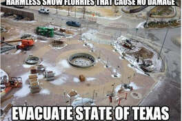 Texas winter weather memes 