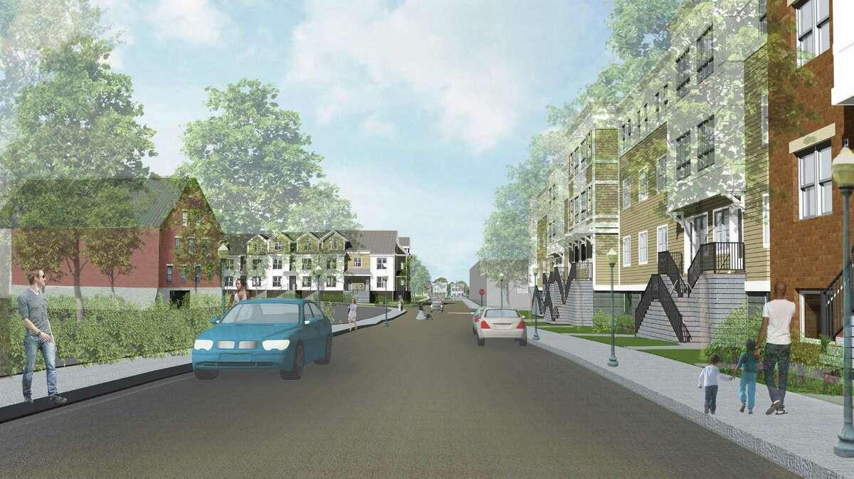 Renderings of the Washington Village redevelopment