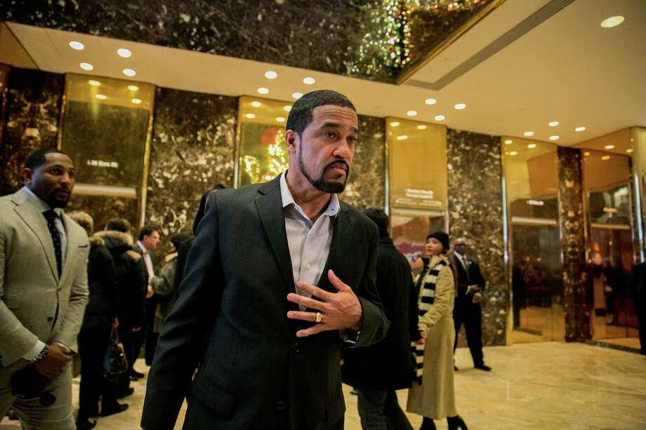 Darrell Scott, a member of President-elect Donald Trump's transition team, is the pastor of New Spirit Revival Center in Cleveland. Photo: SAM HODGSON, STR / NYTNS