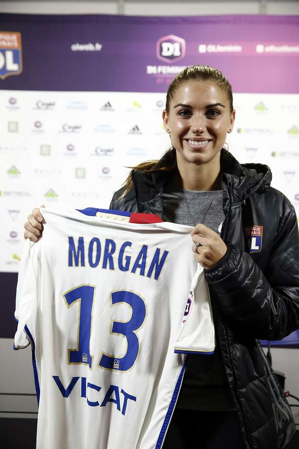 half off 804e2 5f430 Alex Morgan fulfills European ambition by joining Lyon - SFGate