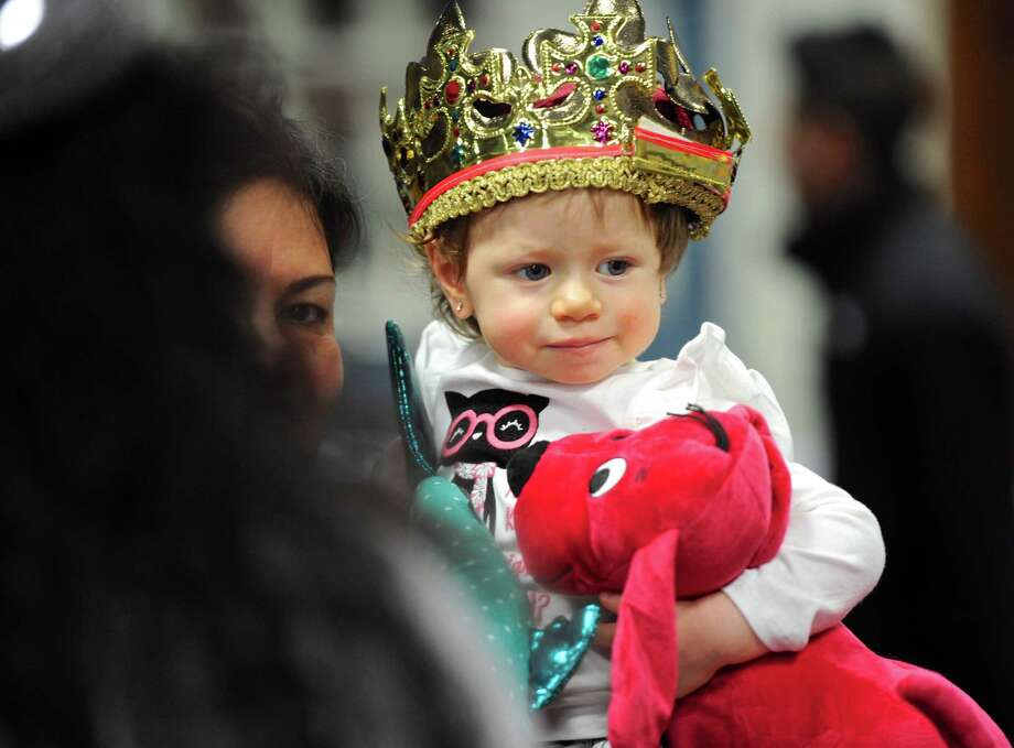 Abigail Rivas, 1, of Danbury, was at the Hispanic Center of Greater Danbury 24th annual Three Kings Day Celebration on Saturday afternoon. The annual event hosted area children and their families where they enjoyed entertainment and an appearance of the Three Kings. January 7, 2017, in Danbury, Conn. Photo: H John Voorhees III, Hearst Connecticut Media / The News-Times