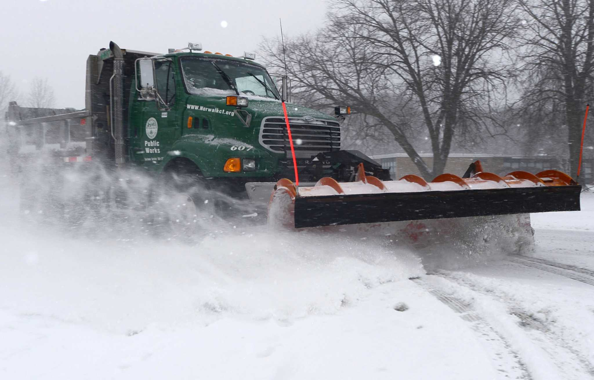demand snow plowing es to Fairfield County GreenwichTime