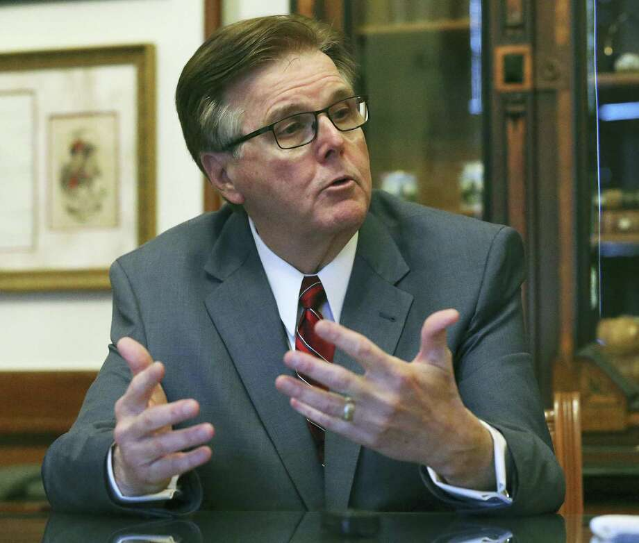 Lt. Governor Dan Patrtick talks about his legislative intentions on January 5, 2016. Photo: Tom Reel, Staff / San Antonio Express-News / 2017 SAN ANTONIO EXPRESS-NEWS