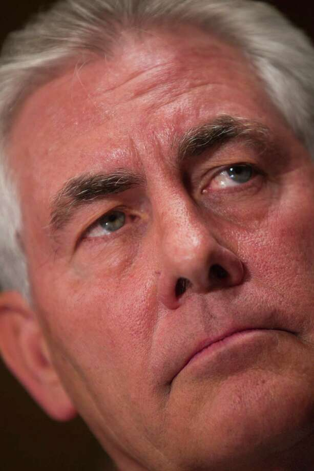 Former ExxonMobil CEO Rex Tillerson is Donald Trump's pick for secretary of state. Photo: STEPHEN CROWLEY, STF / ONLINE_YES