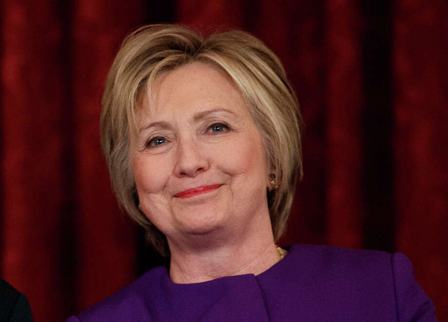 File photo of Hillary Clinton. Photo: Evan Vucci / Copyright 2016 The Associated Press. All rights reserved.