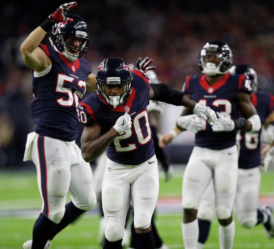 Reserve safety Don Jones (20) signed a two-year contract with the San Francisco 49ers. Photo: Karen Warren, Houston Chronicle / 2016 Houston Chronicle
