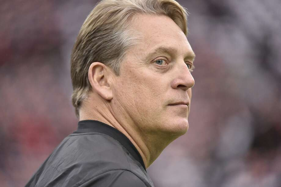 Oakland Raiders head coach Jack Del Rio walks the turf before the first half of an AFC Wild Card NFL game between the Houston Texans and the Oakland Raiders, Saturday, Jan. 7, 2017, in Houston. (AP Photo/Eric Christian Smith) Photo: Eric Christian Smith, Associated Press