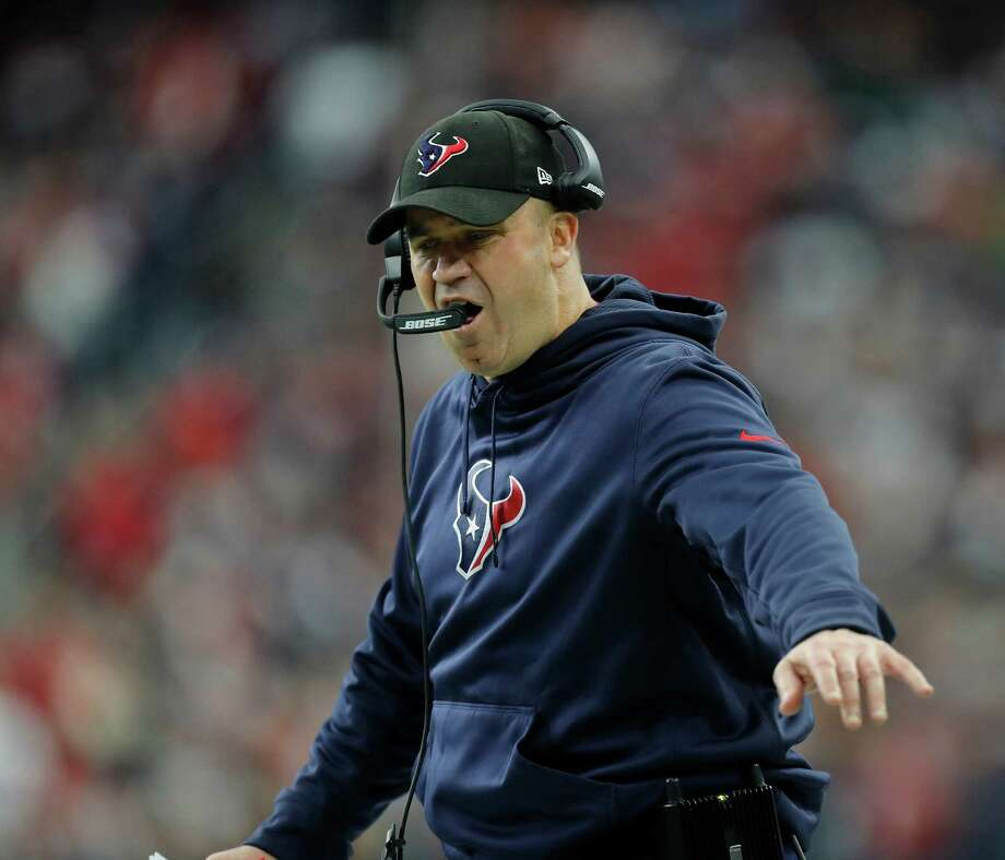 "After logging the first playoff victory in his three Texans seasons, Bill O'Brien said, ""I'm looking forward to coaching here, and I'm looking forward to getting ready for this next game."" Photo: Karen Warren, Staff Photographer / 2016 Houston Chronicle"