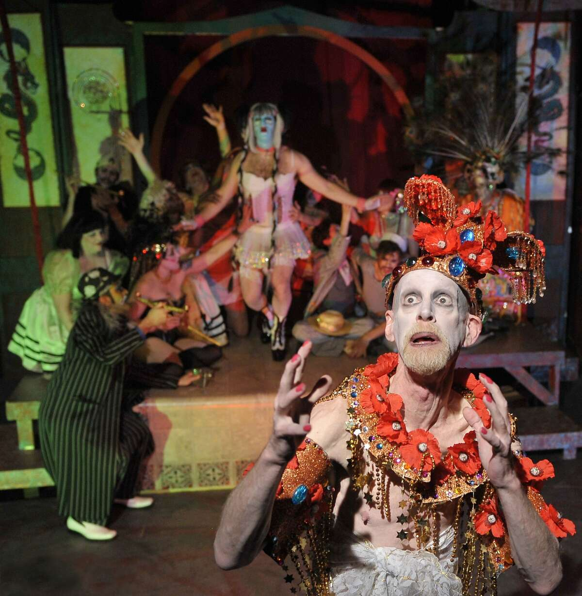 """Thrillpeddlers' production of """"Pearls Over Shanghai"""""""