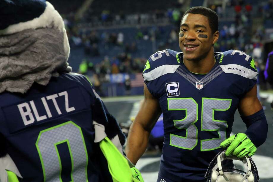 Seahawks player DeShawn Shead smiles as he heads off the field after Seattle's NFL wildcard playoff game against Detroit, Saturday, Jan. 7, 2017, at CenturyLink Field. Photo: SEATTLEPI.COM / SEATTLEPI.COM