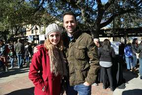 San Antonio's brief wintry weather this weekend set the perfect tone for the annual San Antonio Coffee Festival Saturday, Jan. 7, 2017, at La Villita. More than a dozen specialty roasters brewed up hundreds of cups of tasty Joe amid live music and educational workshops.
